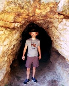 Ophir mining tunnel